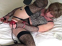 Sometimes all a TGirl needs is a hard bit of wood to stick deep inside her TGirl pussy. Usually,